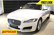New Jaguar XF first look video