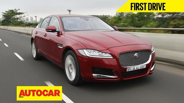 2016 Jaguar XF video review