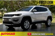 Jeep Compass India first look video