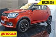 2017 Maruti Ignis first look video