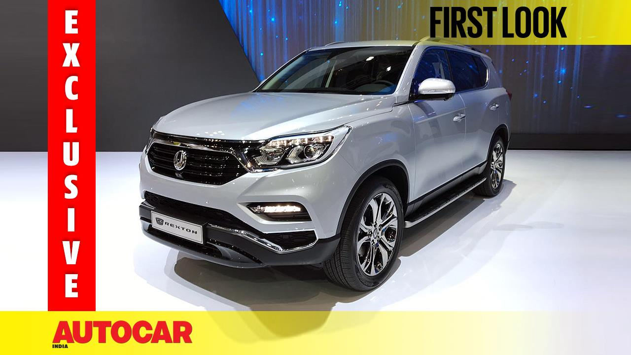 New SsangYong G4 Rexton first look video