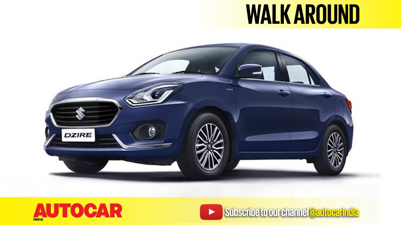 New 2017 Maruti Dzire walk around video