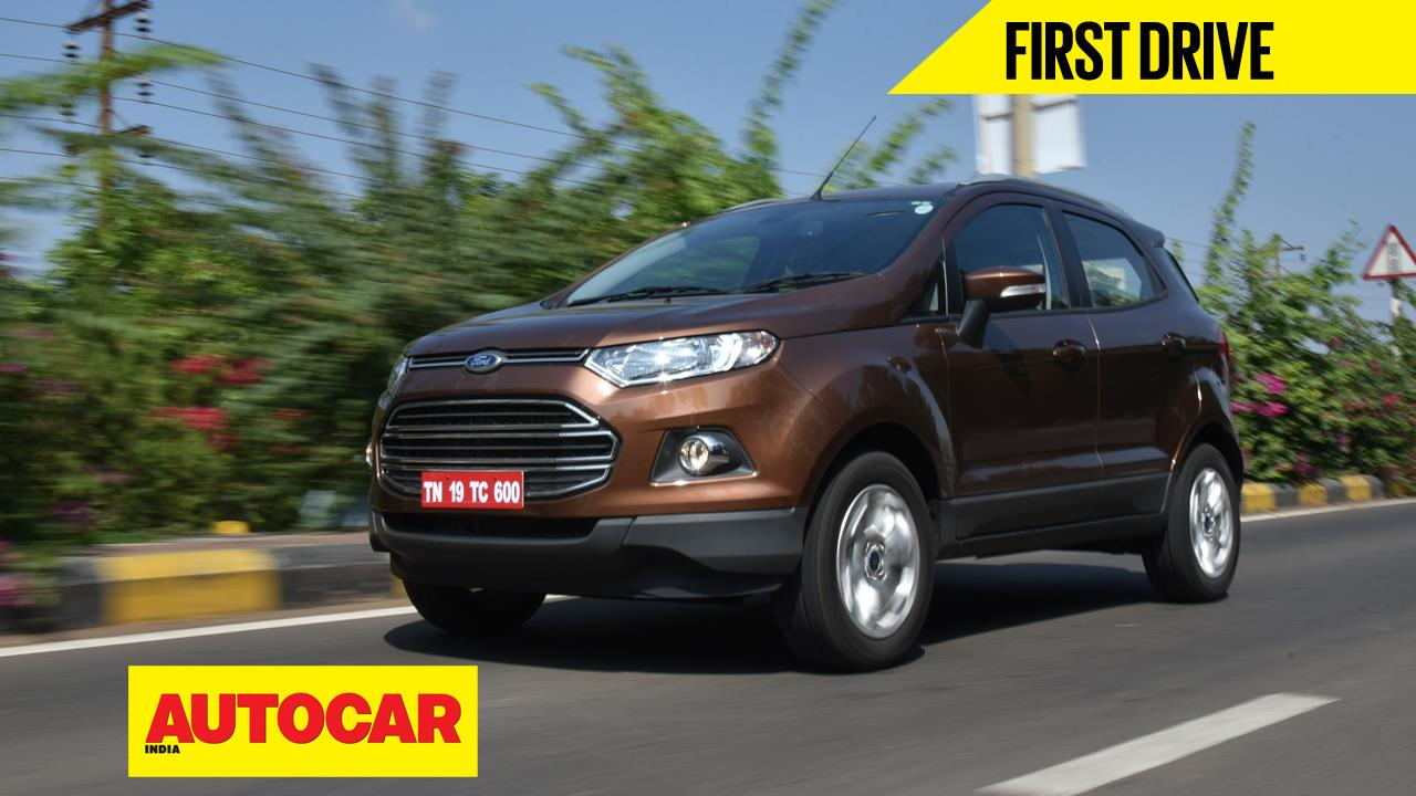 2016 Ford EcoSport video review
