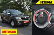 2016 Renault Kwid AMT video review