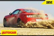 Ford Mustang drive to the Rann of Kutch video feature
