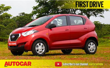 2017 Datsun Redigo 1.0 video review