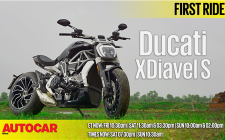 2017 Ducati xDiavel S first ride video review