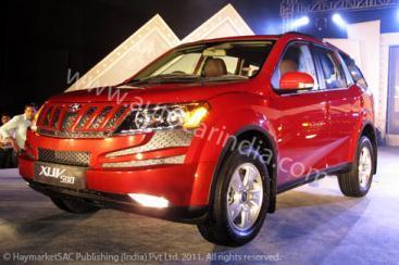 Mahindra XUV500 unveiled