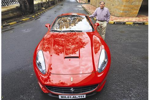 Ratan Tata and his cars