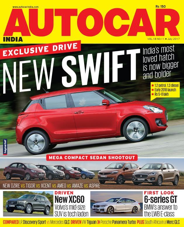 Autocar India Magazine Issue: Autocar India: July 2017