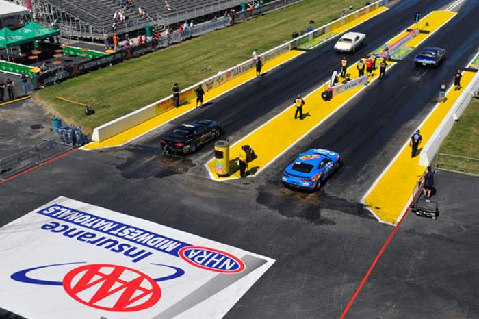 Length of strip for nhra events