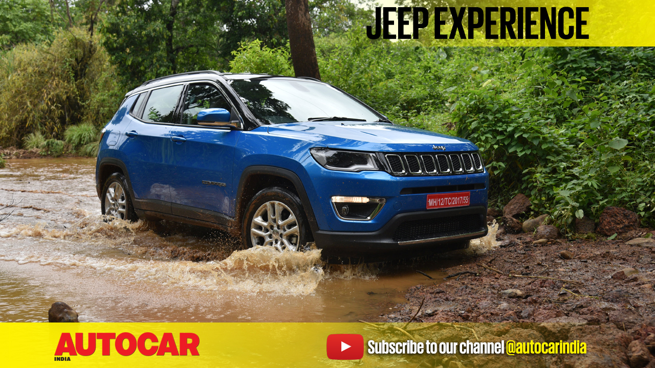 2017 jeep compass off road video autocar india. Black Bedroom Furniture Sets. Home Design Ideas
