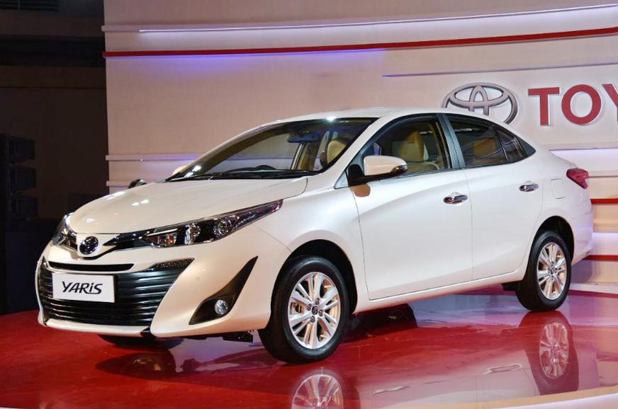 Toyota Yaris sedan first look video - Autocar India