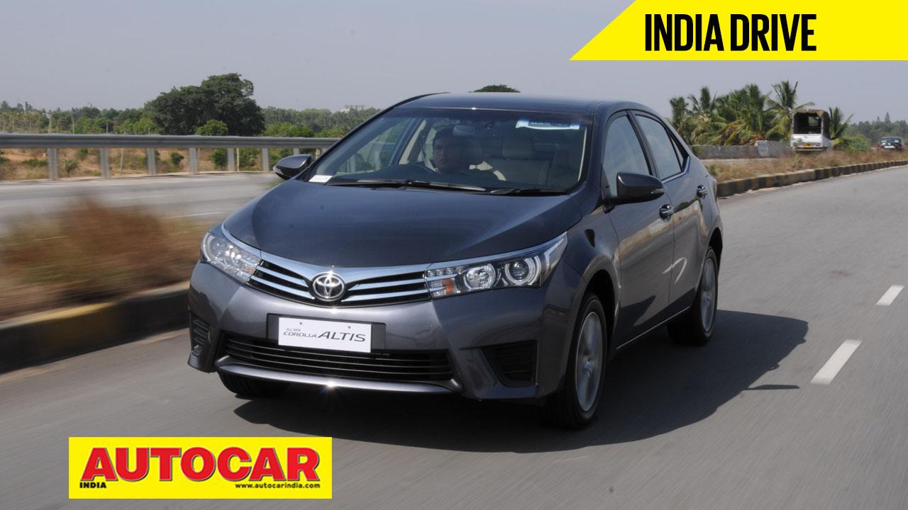 2011 Corolla Altis - Autocar India