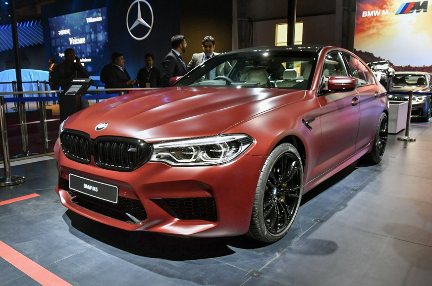 Auto Expo 2018 Bmw Cars Showcased At The 2018 Auto Expo