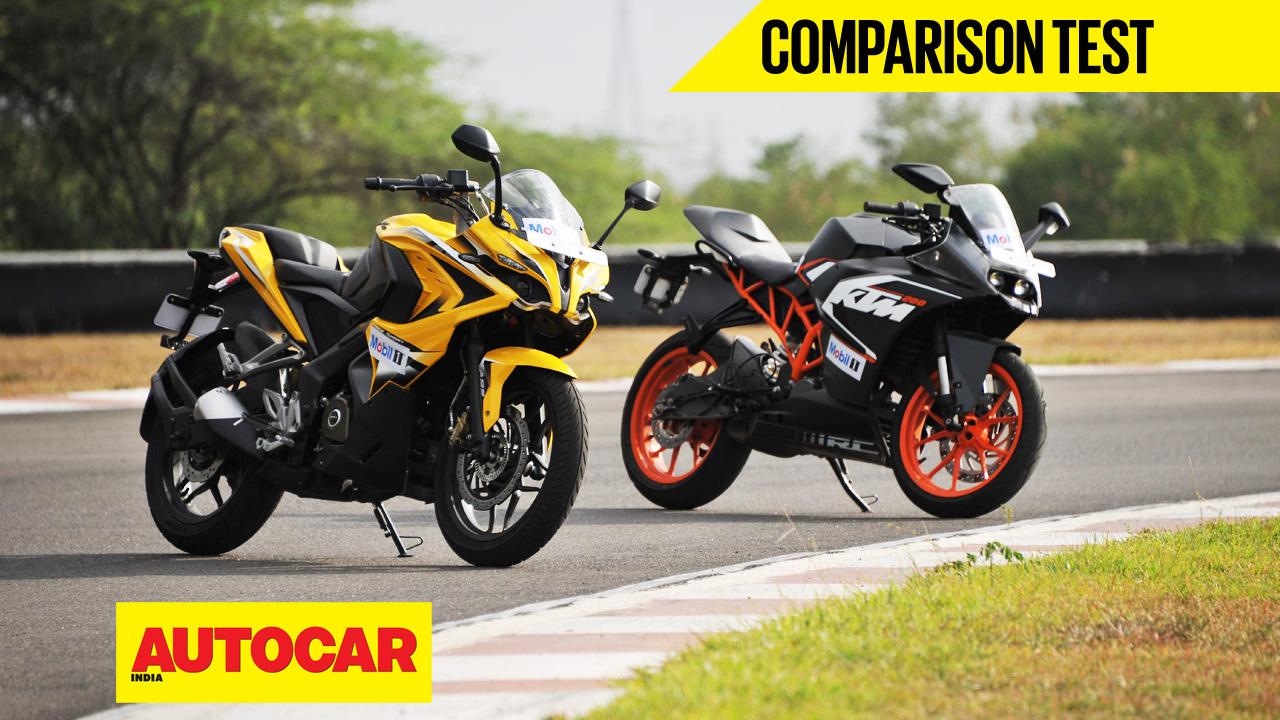 Bajaj Pulsar NS200 vs KTM Duke 200 Comparison of Price