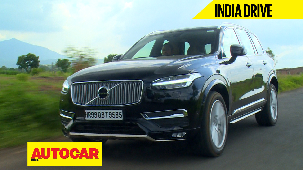New Volvo XC90 India video review - Autocar India