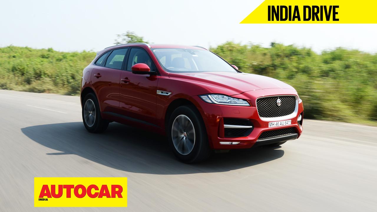 jaguar f pace diesel india video review autocar india. Black Bedroom Furniture Sets. Home Design Ideas