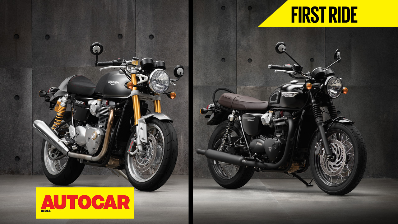 Triumph Bonneville T120 Thruxton R Video Review Autocar India