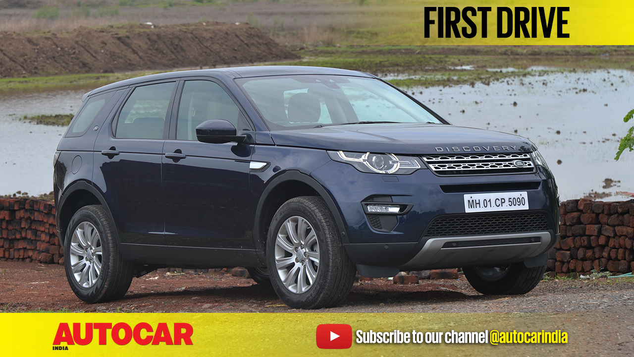 2017 land rover discovery sport 2 0 diesel video review autocar india. Black Bedroom Furniture Sets. Home Design Ideas