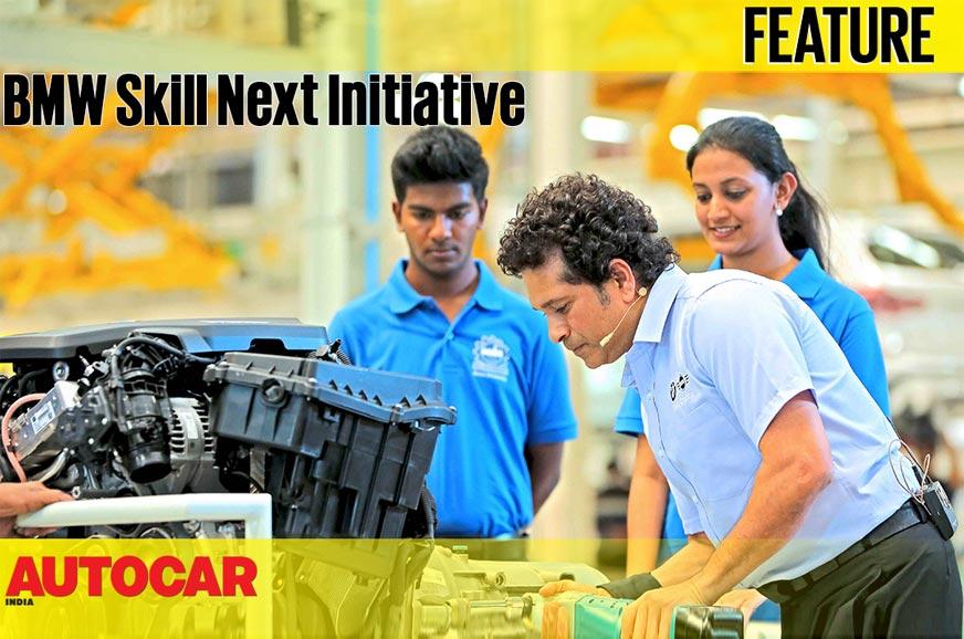Bmw Skill Next Initiative Video Sachin Tendulkar Autocar India