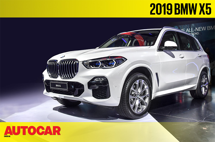 2019 BMW X5 first look video