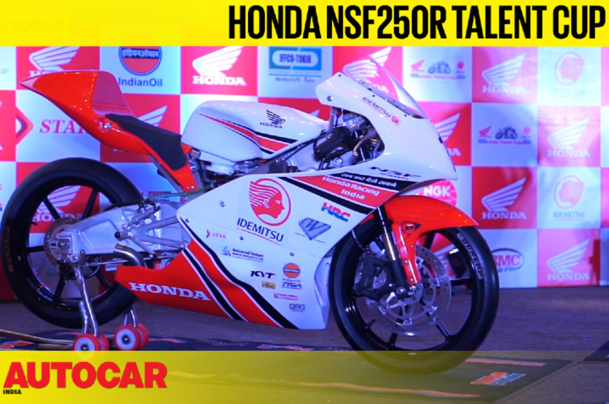 Honda NSF250R Talent Cup feature video