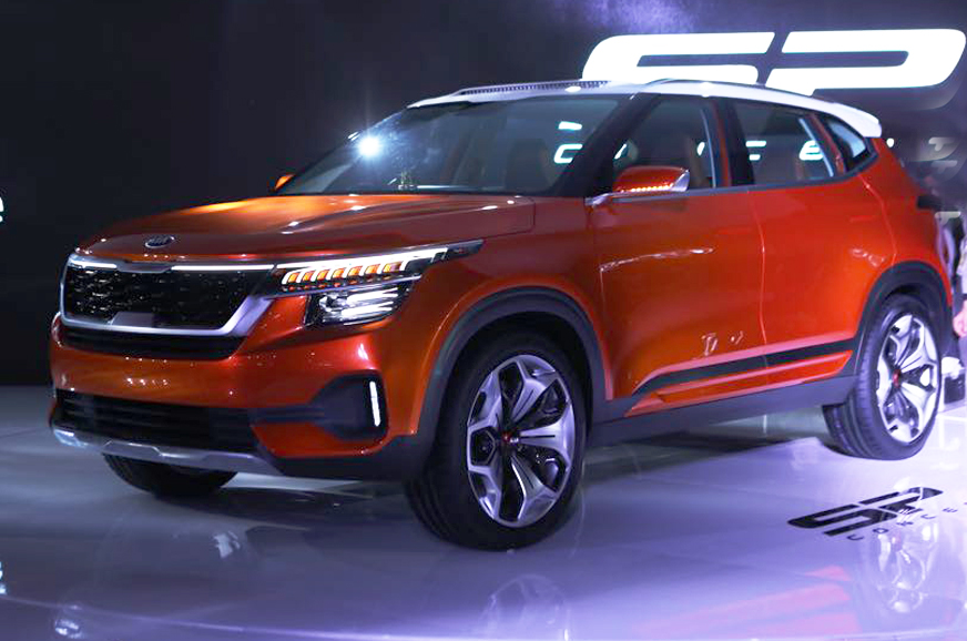 Kia Sp Concept Suv First Look Video Autocar India