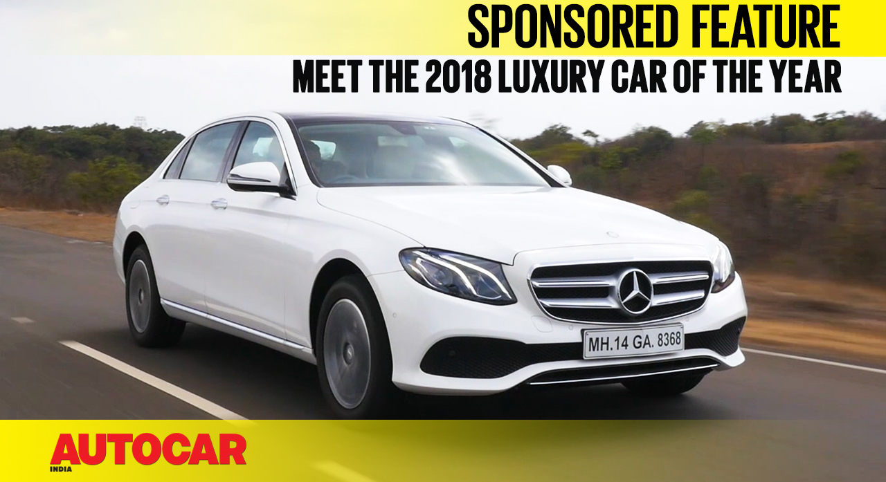 Sponsored Feature Why The Mercedes E Class Is The 2018