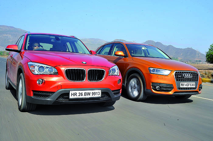 bmw x1 vs audi q3 video comparison autocar india. Black Bedroom Furniture Sets. Home Design Ideas