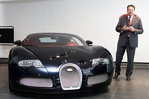 bugatti launches veyron in india autocar india. Black Bedroom Furniture Sets. Home Design Ideas