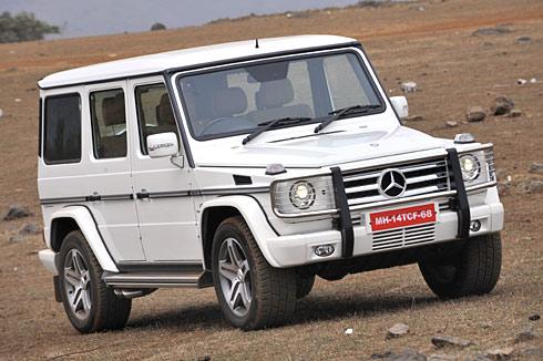 2011 mercedes g55 amg review test drive autocar india. Black Bedroom Furniture Sets. Home Design Ideas