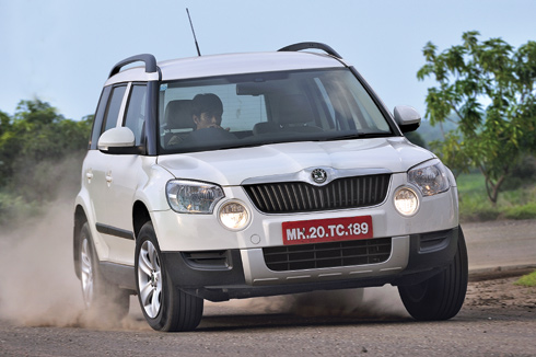 skoda yeti autocar india. Black Bedroom Furniture Sets. Home Design Ideas