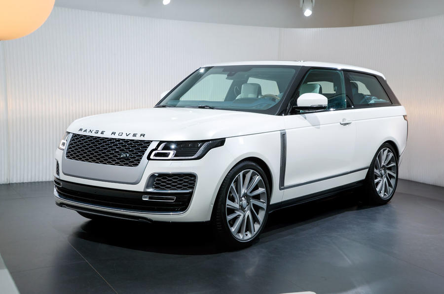 Limited Edition Range Rover Sv Coup 233 Unveiled At The 2018