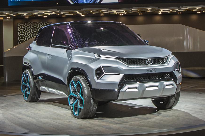 tata h2x micro-suv concept  a closer look