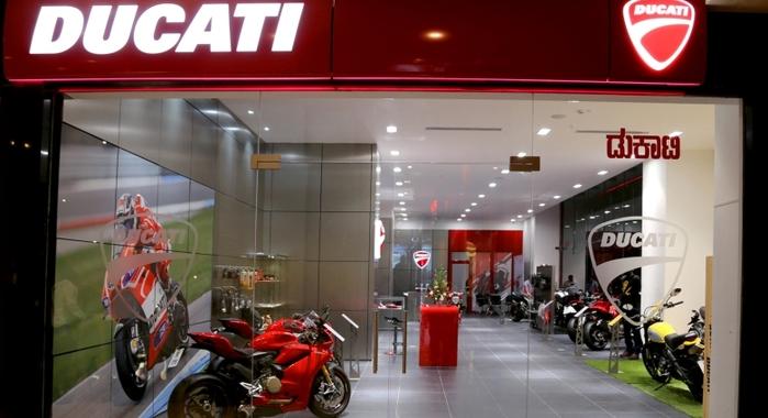 Suzuki Car Dealership >> Ducati opens its first showroom in south India - Autocar India