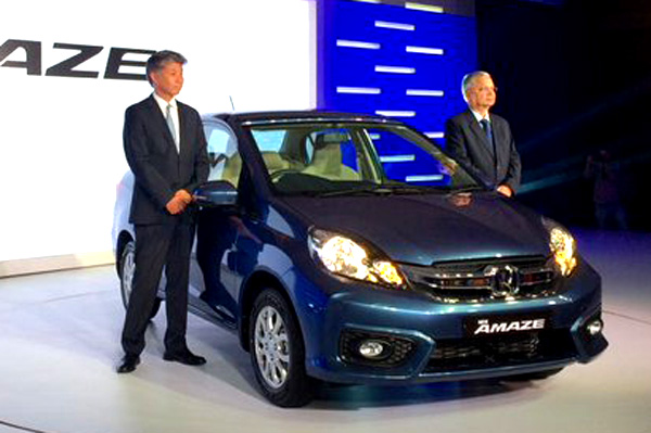 Honda Amaze facelift launched at Rs 5.29 lakh