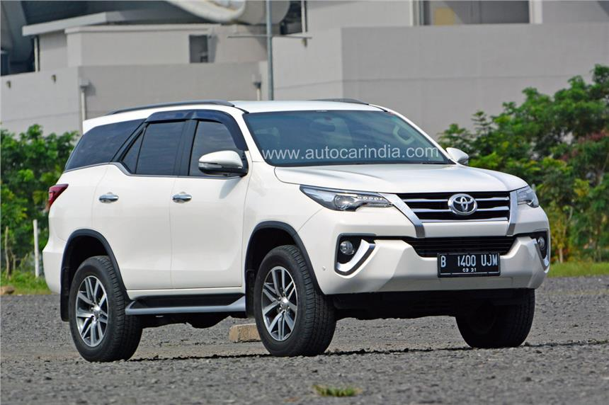 New Toyota Fortuner spied in India - Autocar India