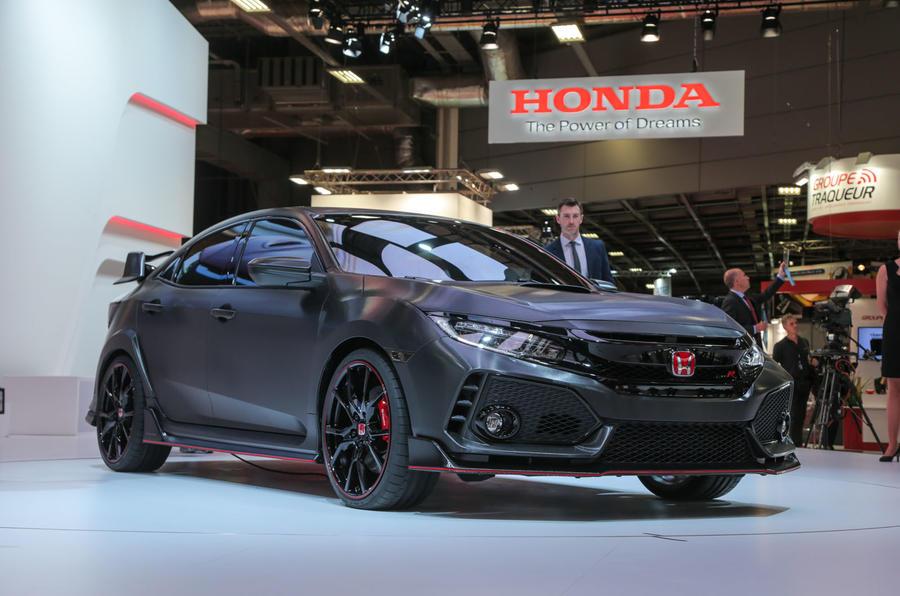 New Honda Civic Type R concept revealed - Autocar India