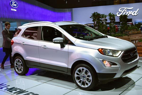 US-spec Ford EcoSport to be made in India - Autocar India