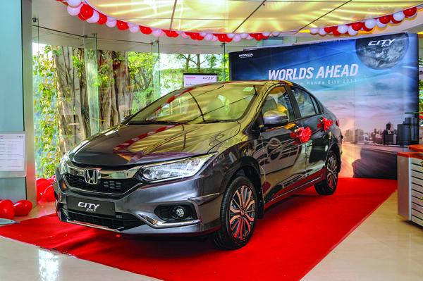 Feature-rich Honda City ZX in high demand
