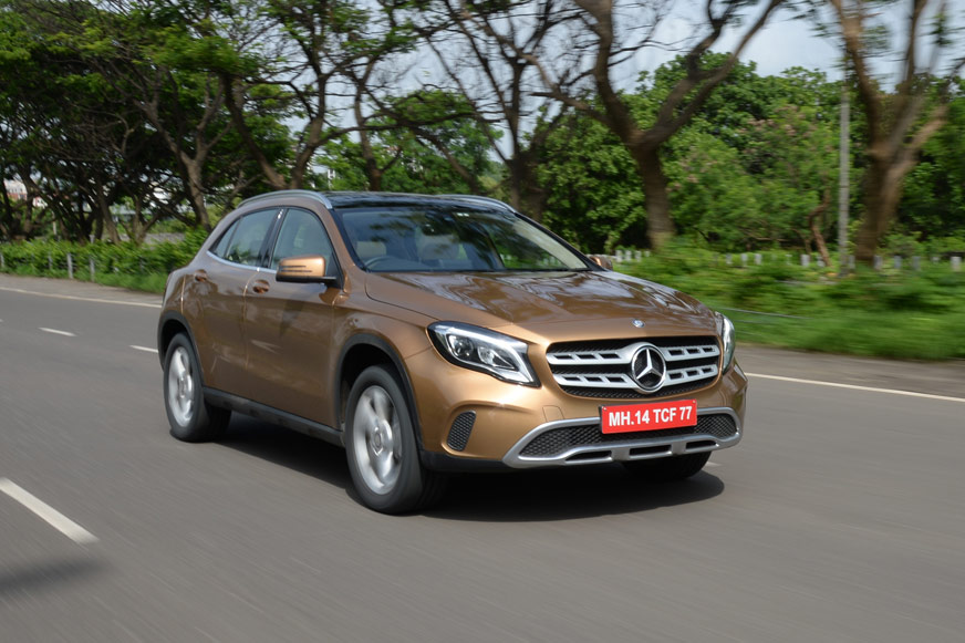 Review: 2017 Mercedes GLA facelift review, test drive