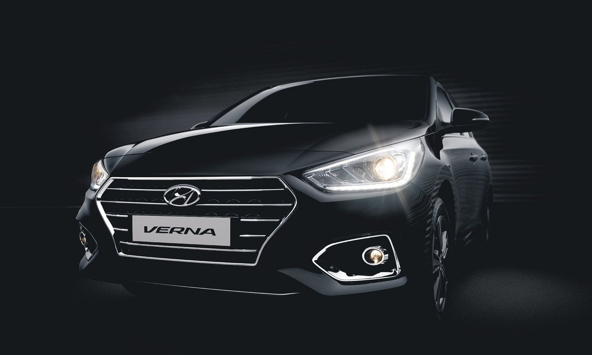 New Hyundai Verna Price Variants Explained Interior And Wiring Diagram Santro India Exterior Images Details Autocar