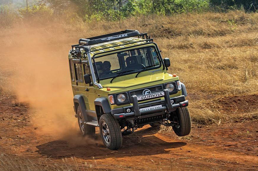 force gurkha drive major update india suv autocarindia front