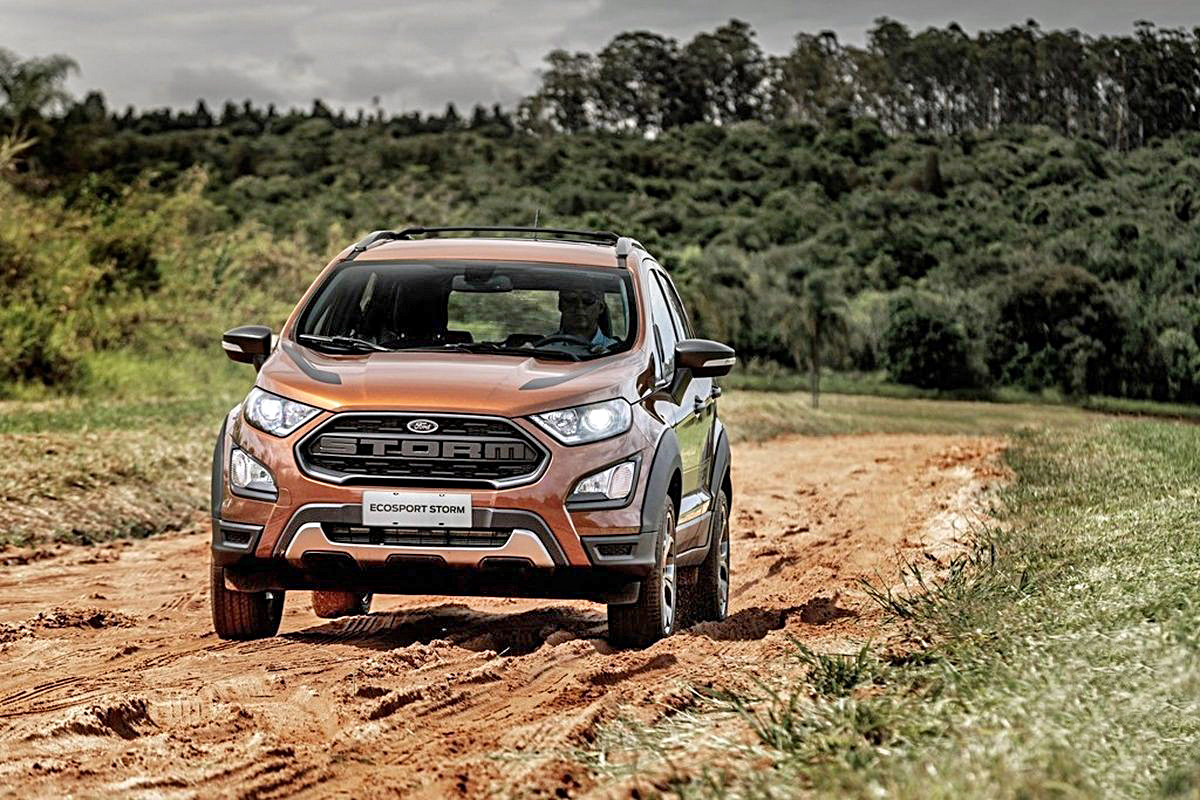 2018 Ford Ecosport Storm Officially Revealed Specifications 4wd Engine Details Equipment And More Autocar India