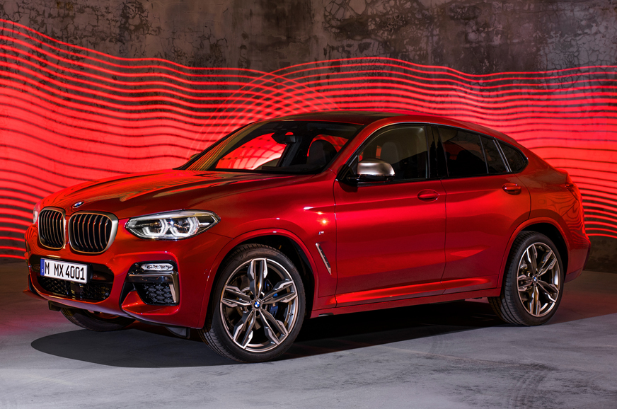 India Bound 2018 Bmw X4 Suv Coupe Revealed Autocar India