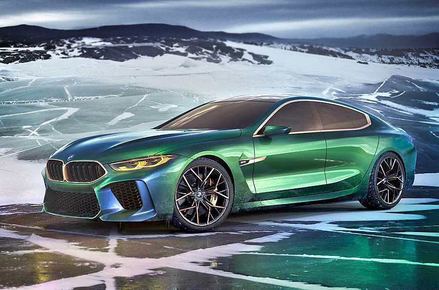 Auto Driving Car >> New BMW Concept M8 Gran Coupe showcased at Geneva ...