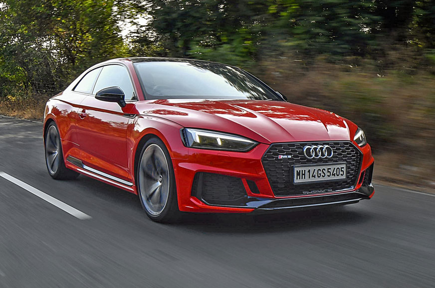 2018 audi rs5 review  test drive of the sports coupe
