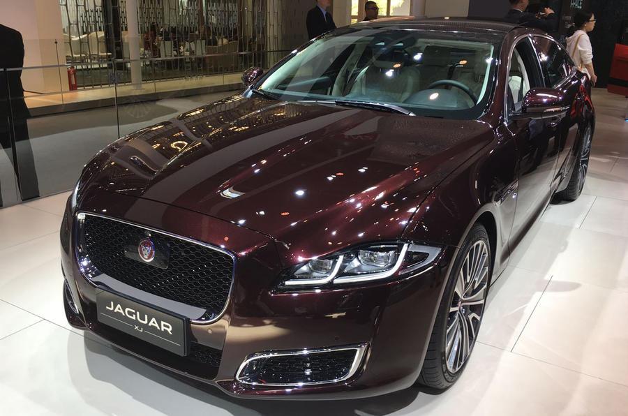 Jaguar XJ50 unveiled at Beijing motor show - Autocar India