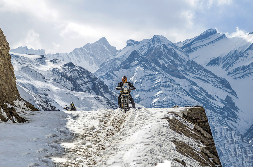Heaven freezes over: Riding to the Himalayas on Royal Enfields